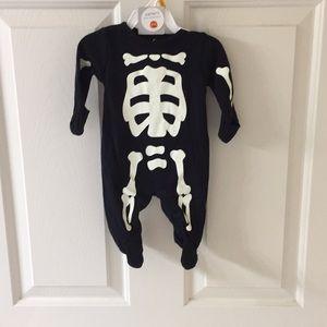 Carters newborn Halloween onesie